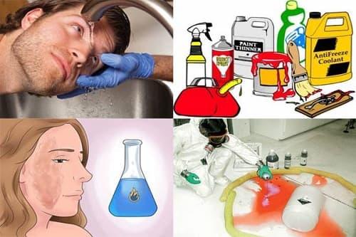 Nguyên nhân và quy trình xử lý khi sự cố hóa chất xảy ra