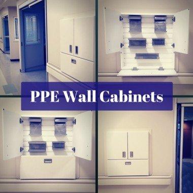 Tủ lưu trữ âm tường cách ly y tế cho bệnh viện
