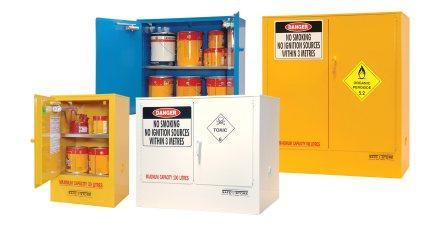 Tủ an toàn lưu trữ hóa chất trong nhà