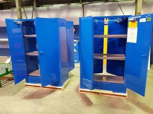 Một số tùy chọn để lắp đặt tủ đựng hóa chất, chất lỏng dễ cháy