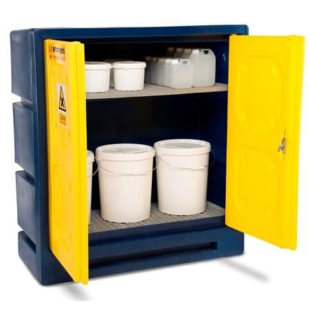 Vị trí đặt tủ lưu trữ hóa chất và chất lỏng dễ cháy