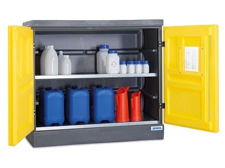 Yêu cầu về cấu tạo tủ bảo quản hóa chất dễ cháy